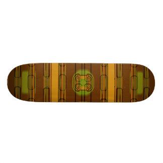 modern pattern factory 01b skateboard deck