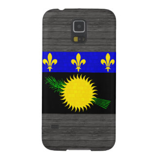 Modern Pattern Guadeloupean Flag Galaxy S5 Cover