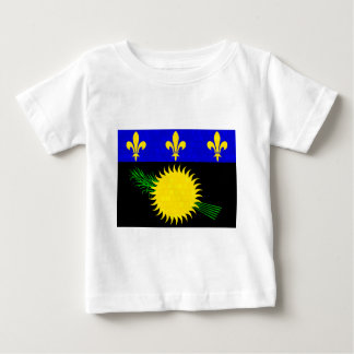 Modern Pattern Guadeloupean Flag Tees