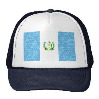 Modern Pattern Guatemalan Flag Trucker Hat