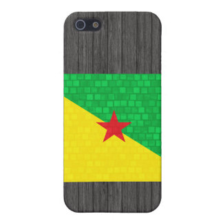 Modern Pattern Guianese Flag Cases For iPhone 5
