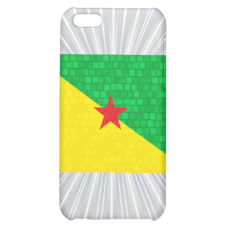 Modern Pattern Guianese Flag iPhone 5C Covers
