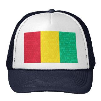 Modern Pattern Guinean Flag Trucker Hat