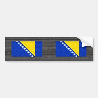 Modern Pattern Herzegovian Flag Bumper Sticker