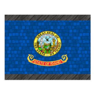 Modern Pattern Idahoan Flag Postcard