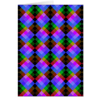 Modern Pattern in Black and Bright Colors.