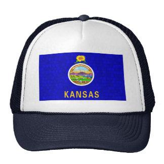 Modern Pattern Kansan Flag Trucker Hat