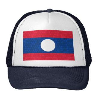 Modern Pattern Laotian Flag Trucker Hat