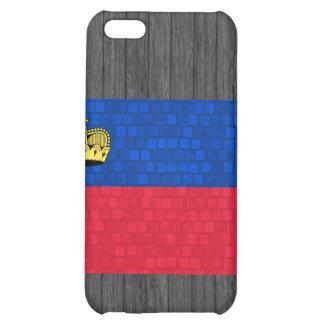 Modern Pattern Liechtensteiner Flag Case For iPhone 5C
