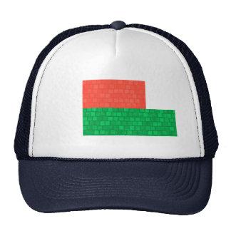 Modern Pattern Malagasy Flag Trucker Hat