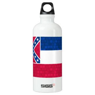 Modern Pattern Mississippian Flag Water Bottle