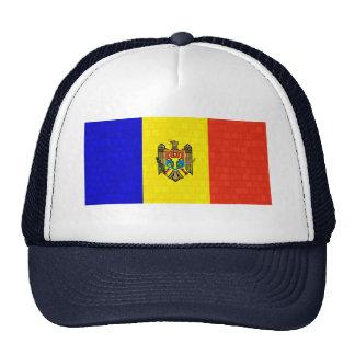 Modern Pattern Moldovan Flag Trucker Hat
