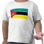 Modern Pattern Mozambican Flag Shirts