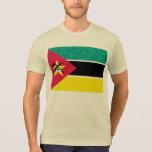 Modern Pattern Mozambican Flag T-shirts