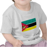 Modern Pattern Mozambican Flag Tees