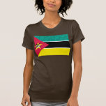 Modern Pattern Mozambican Flag Tshirts