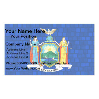 Modern Pattern New Yorker Flag Double-Sided Standard Business Cards (Pack Of 100)
