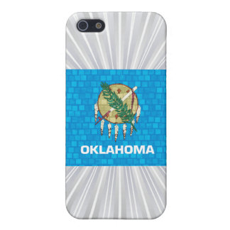 Modern Pattern Oklahoman Flag Covers For iPhone 5