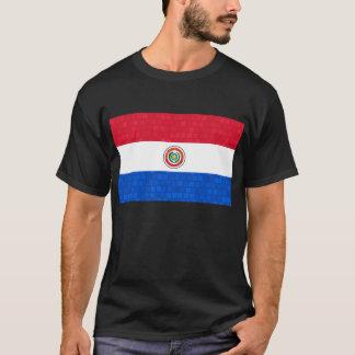 Modern Pattern Paraguayan Flag T-Shirt