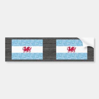 Modern Pattern Patagonian Flag Bumper Stickers
