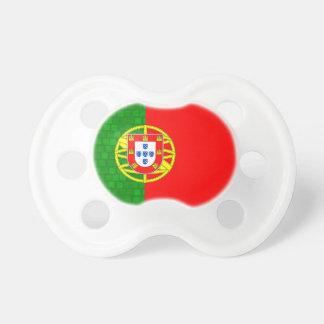 Modern Pattern Portuguese Flag Pacifier
