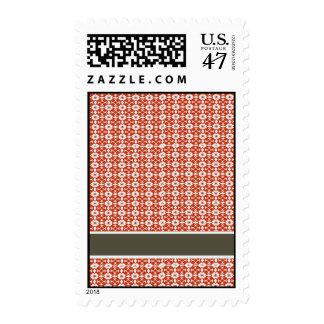 Modern Pattern Postage