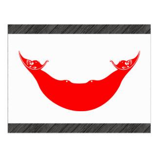 Modern Pattern Rapa Nuian Flag Postcard