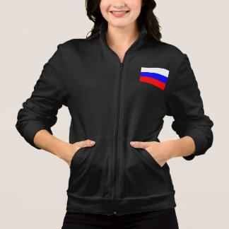 Modern Pattern Russian Flag Jacket