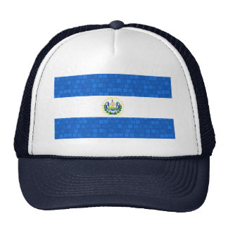 Modern Pattern Salvadoran Flag Trucker Hat