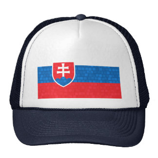 Modern Pattern Slovak Flag Trucker Hat
