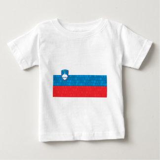 Modern Pattern Slovene Flag Baby T-Shirt
