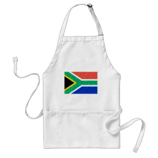 Modern Pattern South African Flag Adult Apron