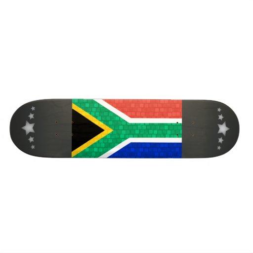 Modern Pattern South African Flag Skate Board Decks