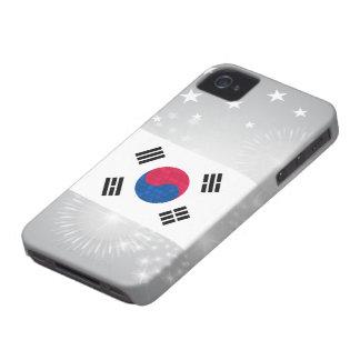 Modern Pattern South Korean Flag Blackberry Bold Cases