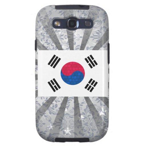 Modern Pattern South Korean Flag Galaxy SIII Case