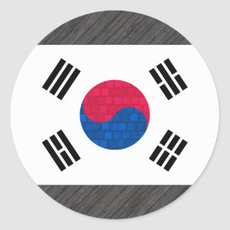 Modern Pattern South Korean Flag Sticker