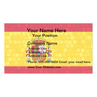 252 Spanish Flag Business Cards and Spanish Flag Business