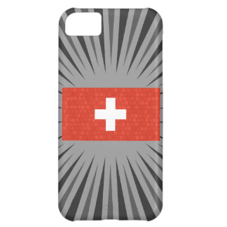 Modern Pattern Swiss Flag iPhone 5C Covers