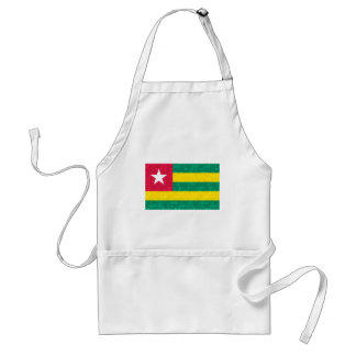 Modern Pattern Togolese Flag Adult Apron