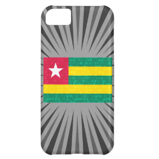 Modern Pattern Togolese Flag Case For iPhone 5C