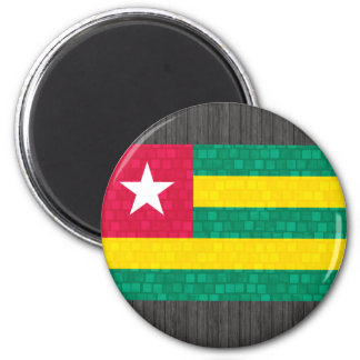 Modern Pattern Togolese Flag Magnet