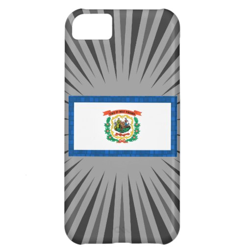 Modern Pattern West Virginian Flag iPhone 5C Covers