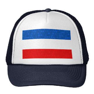 Modern Pattern Yugoslavian Flag Trucker Hat