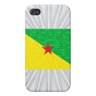 Modern Pern Guianese Flag Cover For iPhone 4