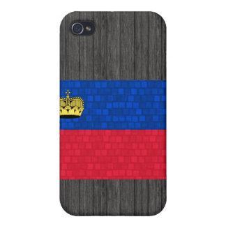 Modern Pern Liechtensteiner Flag iPhone 4 Case