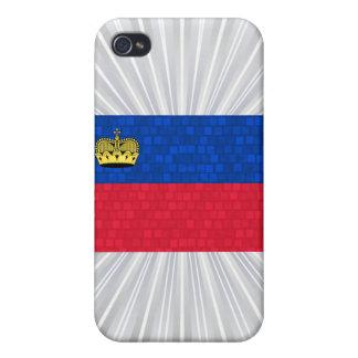 Modern Pern Liechtensteiner Flag Cases For iPhone 4