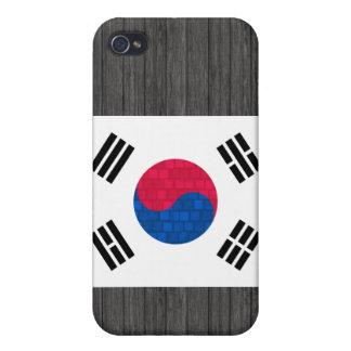 Modern Pern South Korean Flag iPhone 4 Covers