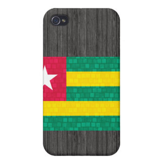 Modern Pern Togolese Flag Covers For iPhone 4