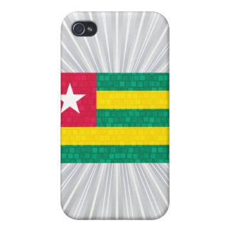 Modern Pern Togolese Flag iPhone 4/4S Case