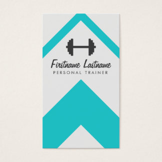 personal fitness business cards
